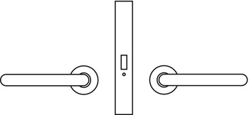 Passage Latch, Non-locking