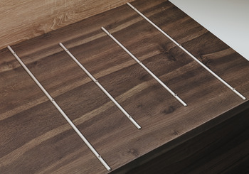 Protection rails, for worktops and furniture