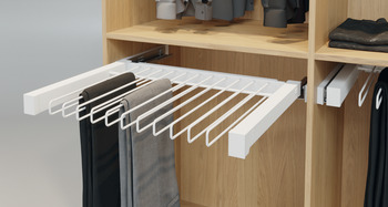 Pull out trouser rack, Häfele Dresscode