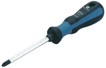 Screwdriver, PZ cross slot, chrome-molybdenum-vanadium steel