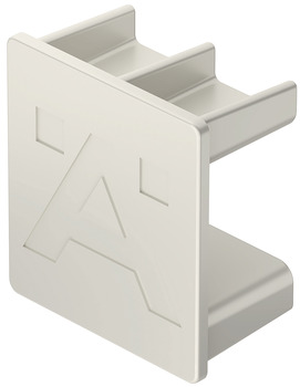Shelf connector, For Häfele Dresscode aluminium frame system