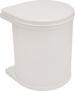 Single waste bin, 15 litres, Hailo Mono, model 3515-00