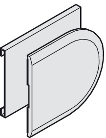 Sliding door lock, Cover cap for counter case