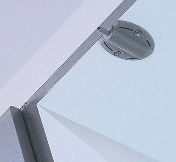 Soft closing mechanism for doors, for inserting into adapter housing or drill hole