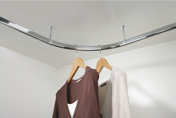 Wardrobe Rail, Corner Set